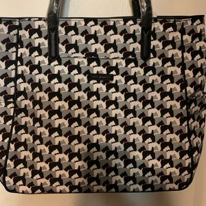 NWT Vera Bradley preppy Polly zip top tote